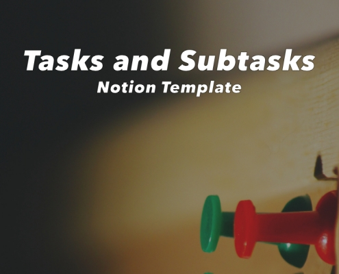 Notion Tasks and Subtasks Template