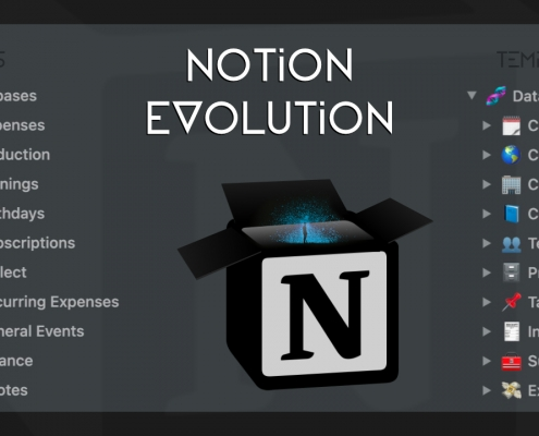 Notion Evolution Templates and Videos